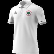 Hardingham CC Adidas White Polo