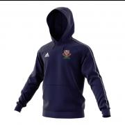 Urmston CC Adidas Navy Junior Fleece Hoody