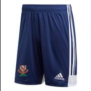 Urmston CC Adidas Navy Junior Training Shorts