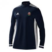 Urmston CC Adidas Navy Zip Training Top