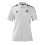 Urmston CC Adidas White Polo