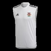 Urmston CC Adidas White Training Vest