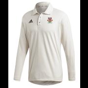 Urmston CC Adidas Elite Long Sleeve Shirt