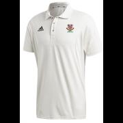 Urmston CC Adidas Elite Junior Short Sleeve Shirt