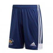 Hopton Mills CC Adidas Navy Junior Training Shorts