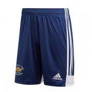 Hopton Mills CC Adidas Navy Training Shorts