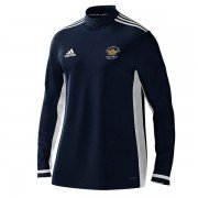 Hopton Mills CC Adidas Navy Zip Training Top