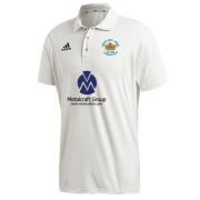 Hopton Mills CC Adidas Elite Short Sleeve Shirt