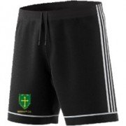 Guiseley CC Adidas Black Junior Training Shorts