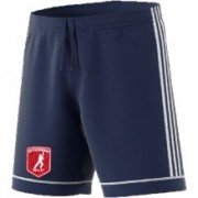 Cottage Maurice CC Adidas Navy Junior Training Shorts