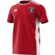 Cottage Maurice CC Adidas Red Training Jersey