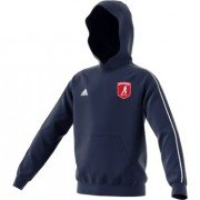 Cottage Maurice CC Adidas Navy Junior Hoody