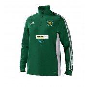 Malton & Old Malton Cricket Club Adidas Green Training Top
