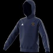 Thoresby Colliery CC Adidas Navy Fleece Hoody