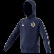 Askern Welfare CC Adidas Navy Junior Hoody