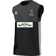 Swansea University CC Adidas Black Training Vest