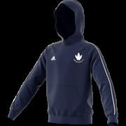 Norton Oakes CC Adidas Navy Junior Hoody