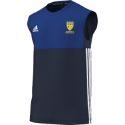 Allenburys & County Hall CC Adidas Navy Training Vest