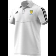 Allenburys & County Hall CC Adidas White Polo