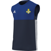 Waleswood Sports CC Adidas Navy Training Vest