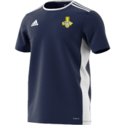 Waleswood Sports CC Adidas Navy Junior Training Jersey