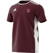 Kirby Muxloe CC Adidas White Junior Training Jersey