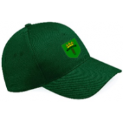 Bronze CC Green Baseball Cap