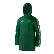 Bronze CC Green Adidas Stadium Jacket