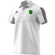 Bronze CC Adidas White Polo