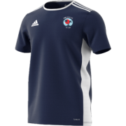 Pacific CC Adidas Navy Junior Training Jersey