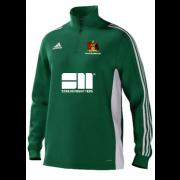 Aberystwyth CC Adidas Green Training Top