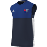 Potters Bar CC Adidas Navy Training Vest