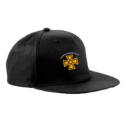 Alfreton CC Black Snapback Hat