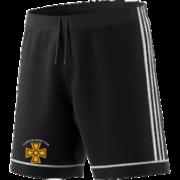Alfreton CC Adidas Black Junior Training Shorts