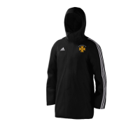 Alfreton CC Black Adidas Stadium Jacket