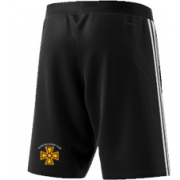 Alfreton CC Adidas Black Training Shorts