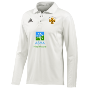 Alfreton CC Adidas Elite L/S Playing Shirt