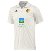 Alfreton CC Adidas Elite S/S Playing Shirt