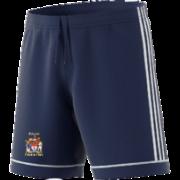 Peterlee CC Adidas Navy Junior Training Shorts