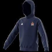 Peterlee CC Adidas Navy Junior Hoody