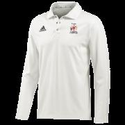 Peterlee CC Adidas Elite L/S Playing Shirt