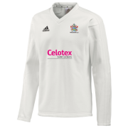Hadleigh CC Adidas L/S Playing Sweater