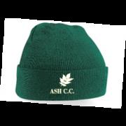 Ash CC Green Beanie