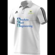 Shotley Bridge CC Adidas White Polo