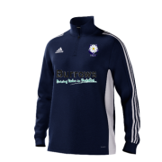 Hoylandswaine CC Adidas Navy Zip Training Top