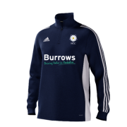 Hoylandswaine CC Adidas Navy Zip Junior Training Top