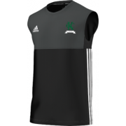 Kew CC Adidas Black Training Vest