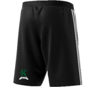 Kew CC Adidas Black Training Shorts