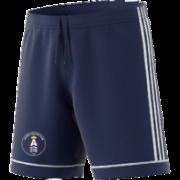 Acton CC Adidas Navy Junior Training Shorts
