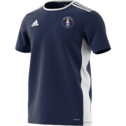 Acton CC Adidas Navy Junior Training Jersey